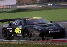 Valentino arriva 3° con la Ferrari alla 6 Ore di Vallelunga