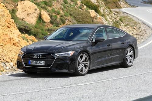 Audi S7, le foto spia (3)