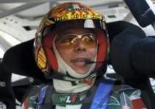 Rossi in gara con la Focus WRC