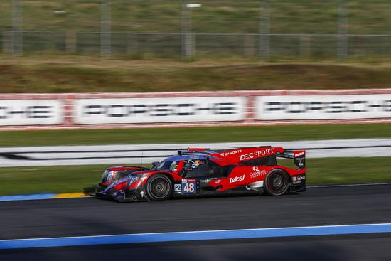 Miglior tempo per Paul-Loup Chatin nella classe LMP2
