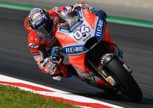 MotoGP 2018. Dovizioso il più veloce nel warm-up a Barcellona