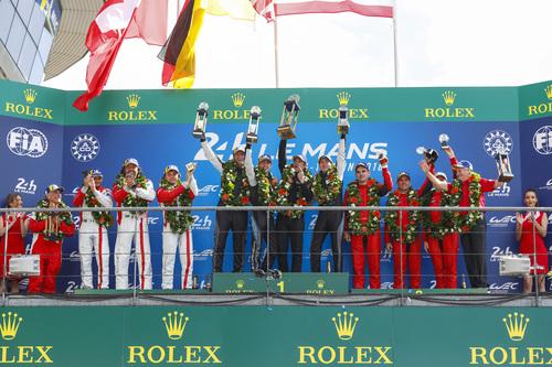 24 Ore di Le Mans, Doppietta Toyota: Alonso Nakajima e Buemi nella storia [video] (9)