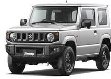 Suzuki Jimny, ecco la nuova generazione