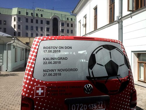 """Mondiali Russia 2018: la Svizzera ha un consolato """"mobile"""" (2)"""