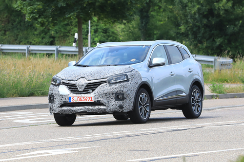 Renault Kadjar restyling, le foto spia  (2)