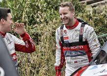 WRC 2018 Italia Sardegna. Citroen con Ostberg fino a fine anno