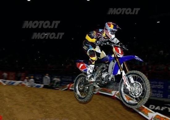 AMA Supercross: è già Stewart show