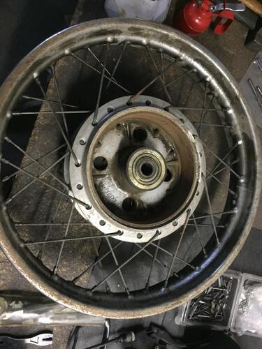 Restaurando, puntata 21: Honda CB 750 Four k1 (6)