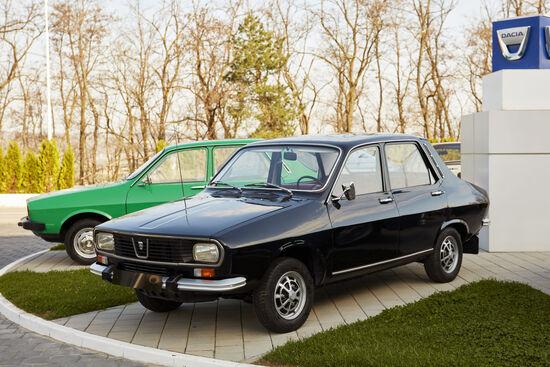 La Dacia 1301. Evoluzione della Dacia 1300, nella versione Lux Super era riservata ai dirigenti del Partito Comunista rumeno dell'epoca