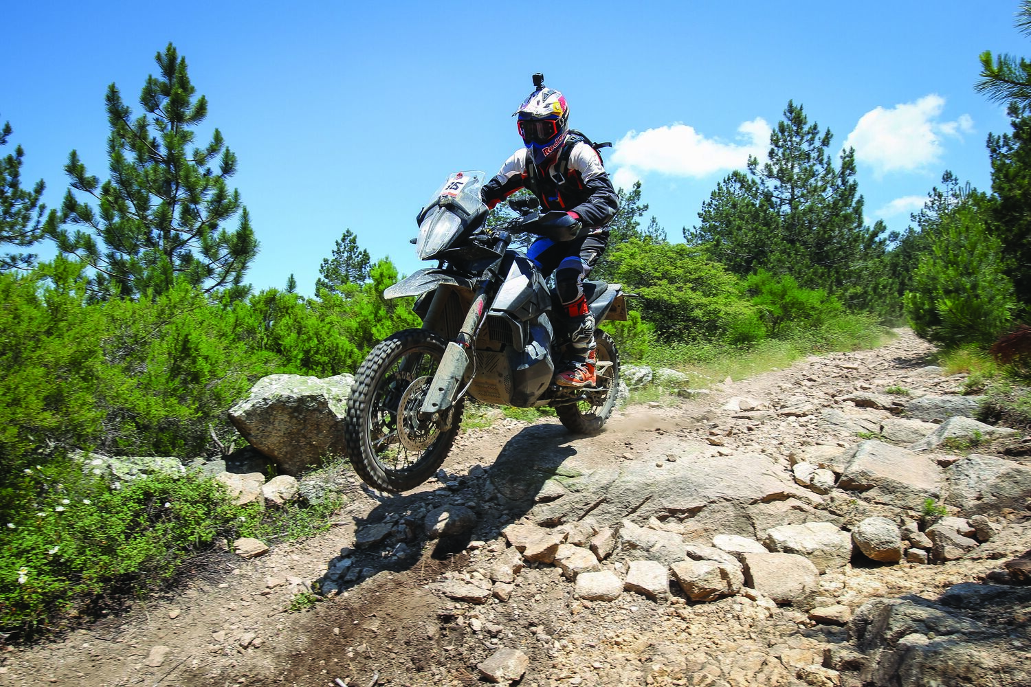 KTM 790 Adventure R, test in Sardegna