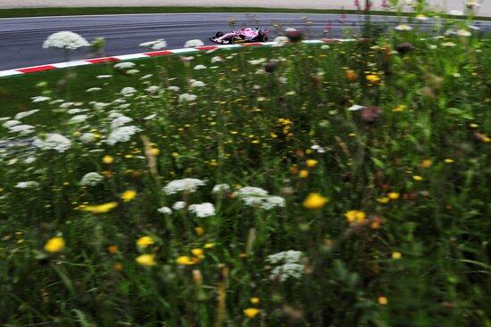 Il primo degli esclusi dalla Q2 in Austria è Esteban Ocon, della Force India