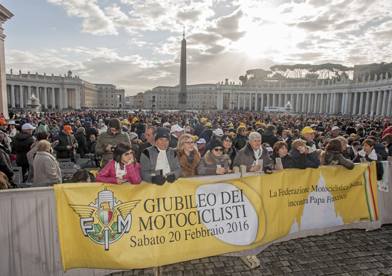 Giubileo: i motociclisti in udienza da Papa Francesco
