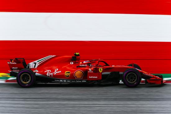 Seconda posizione in Austria per Kimi Raikkonen