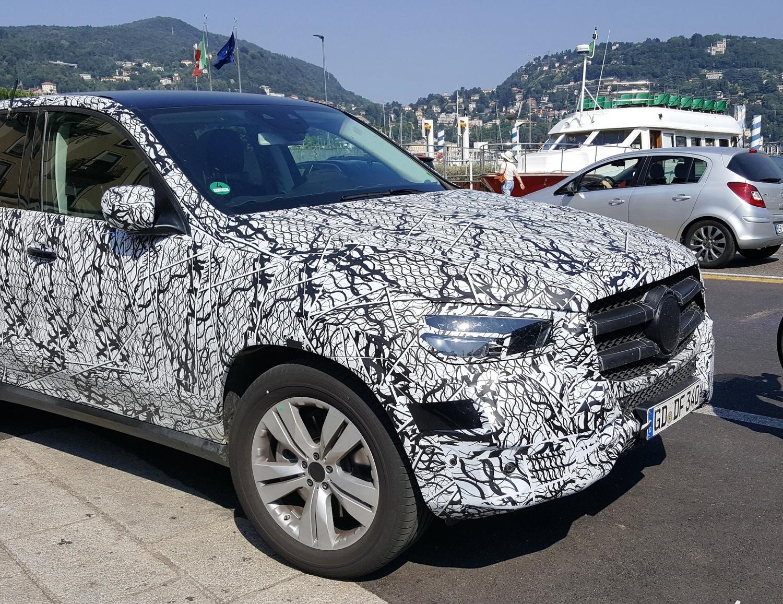 Nuova Mercedes GLE 2019: 3 modelli preserie sul lago di Como