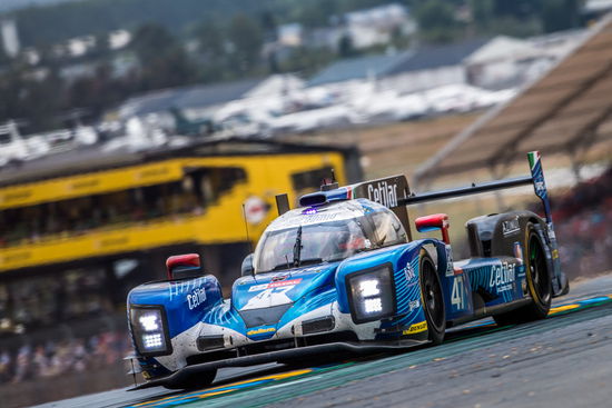Il prototipo della Cetilar Villorba Corse in azione a Le Mans
