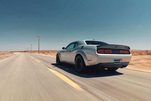 """Dodge Challenger SRT Hellcat Redeye, """"muscle car"""" da 797 CV  (5)"""