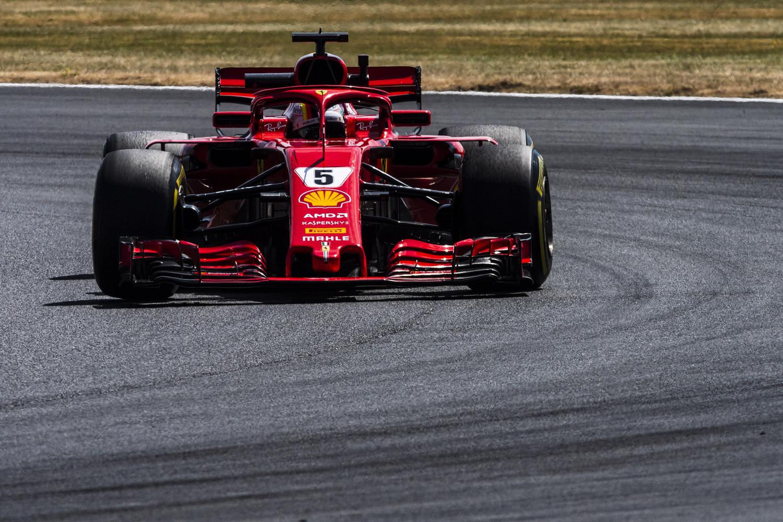F1, GP Silverstone 2018, Vettel: «Non ero sicuro di farcela per le qualifiche»