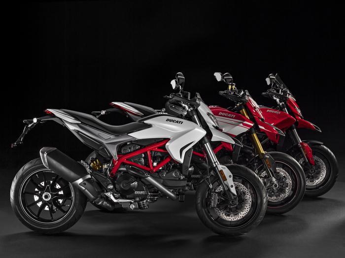La gamma colori della Ducati Hypermotard 939