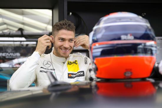 Edoardo Mortara, pilota Mercedes nel DTM