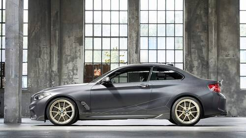 BMW M2 M Performance Parts Concept, debutto a Goodwood (2)