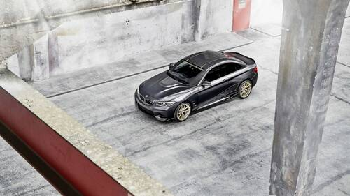 BMW M2 M Performance Parts Concept, debutto a Goodwood (7)