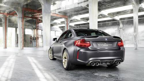 BMW M2 M Performance Parts Concept, debutto a Goodwood (5)