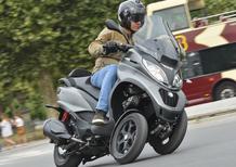 Piaggio MP3 350 e 500 2018: Test sulle strade di Parigi
