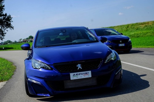 Peugeot 308 by Arduini Corse, racing stradale all'italiana (5)