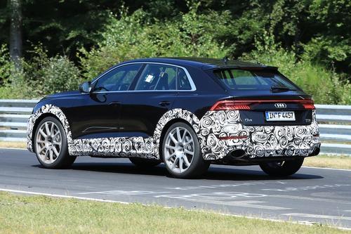 Audi RS Q8, le foto spia (6)