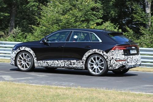Audi RS Q8, le foto spia (8)