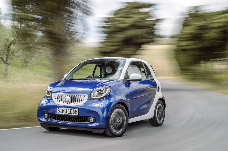 smart fortwo 90 0.9 Turbo twinamic parisblue Passion (5)