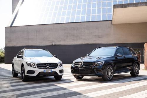 Mercedes CLA, GLA e GLC Night Edition