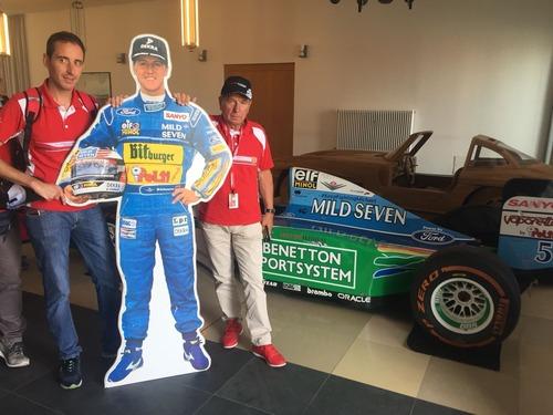 F1: visita al museo dedicato a Michael Schumacher (7)