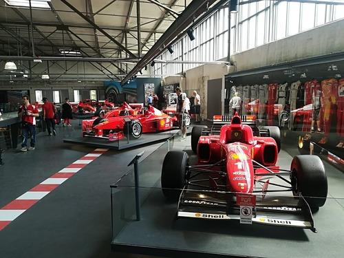 F1: visita al museo dedicato a Michael Schumacher