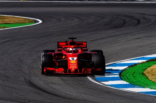 F1, GP Germania 2018, Vettel: «Che feeling con la macchina»