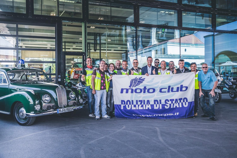 Moto Club Polizia di Stato, viaggio sociale a Monaco di Baviera