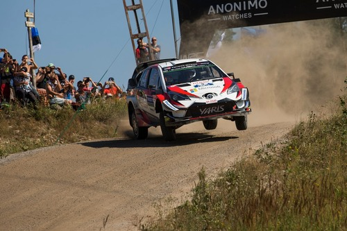 WRC18 Finlandia. Day 2: Tanak, Toyota (5)