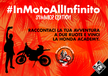 Tucano Urbano: concorso #inmotoallinfinito Summer Edition