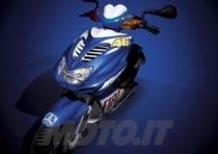 Yamaha presenta lo scooter Aerox Fiat Team Race Replica 2010