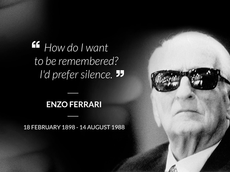 Enzo Ferrari, il ricordo a 30 anni dalla scomparsa