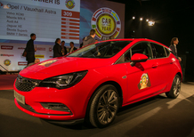 Opel Astra è Auto dell'Anno 2016 [Video]
