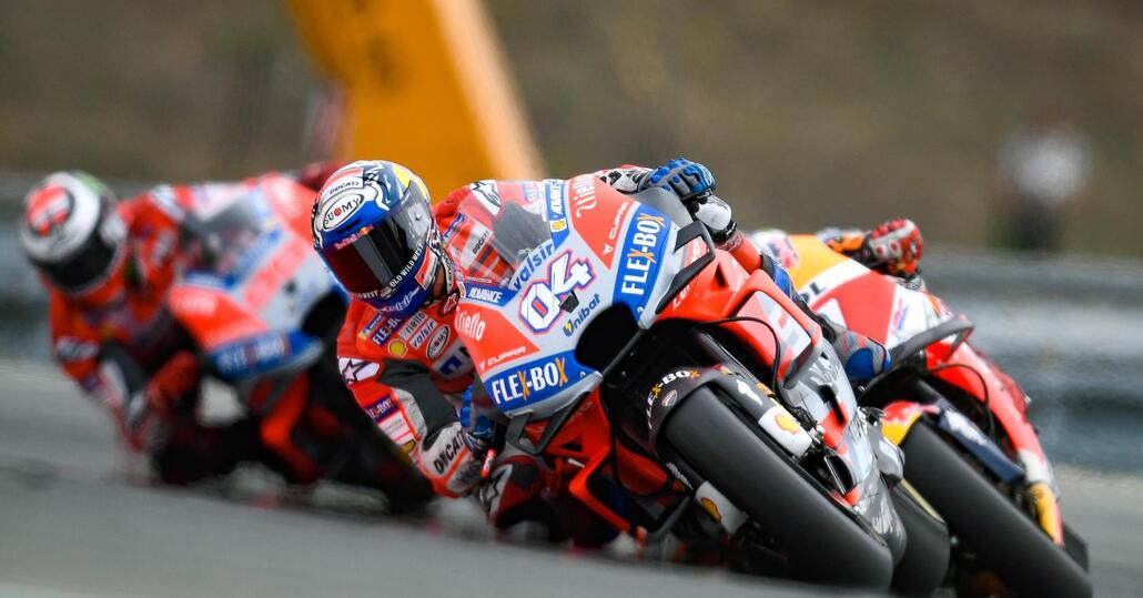MotoGP 2018. Dovizioso: Tanta roba battere Lorenzo e Márquez