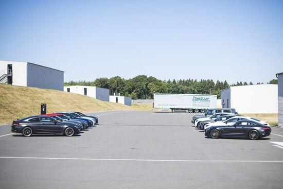 Tutta la famiglia C 63 S riunita per il nostro test: berlina, Coupé, Cabrio e la sorprendente station wagon