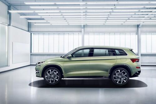 VisionS Concept: così sarà il SUV ibrido di Skoda (4)