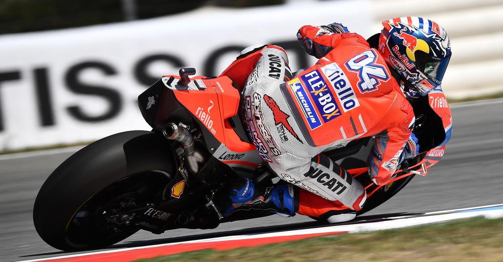 MotoGP 2018. GP d'Austria, FP1: tripletta Ducati