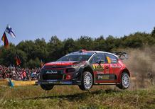 WRC 2018/Citroen. Germania Finale. Input, Output: Breen 7°, Ostberg Out