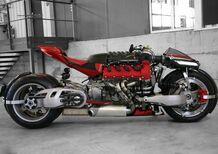 Lazareth LM 847, Maserati V8 multiruota