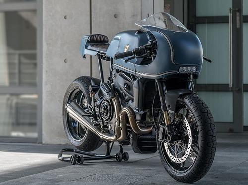 Ducati Monster 1200S The Indigo Flyer da Rough Crafts (4)