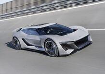 Audi PB18 e-tron, supercar del futuro