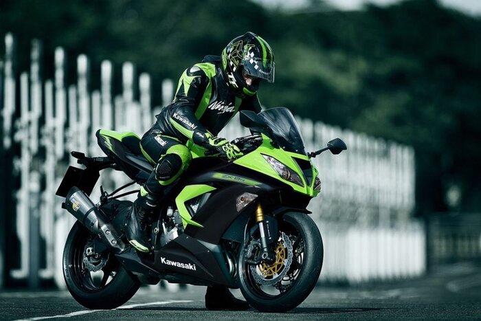 L'attuale Kawasaki Ninja 636